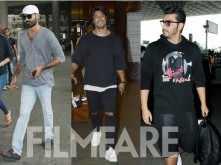 Arjun Kapoor, Dhanush and Vidyut Jamwal turn the heat on at the airport