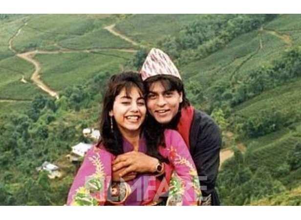 Getaway time: SRK and Gauri get cutesy on a mini vacation