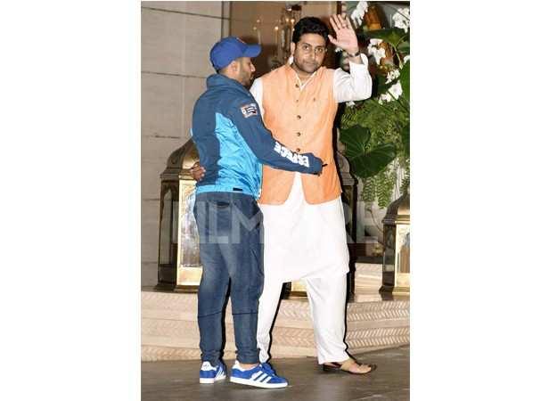 Varun Dhawan and Abhishek Bachchan