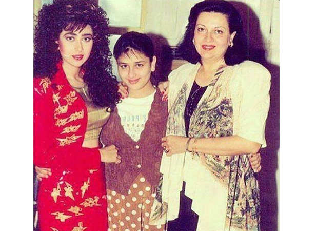 Karisma Kapoor, Kareena Kapoor Khan and Babita