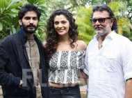 Harshvardhan Kapoor, Saiyami Kher and Rakeysh Omprakash Mehra kickstart Mirzya promotions
