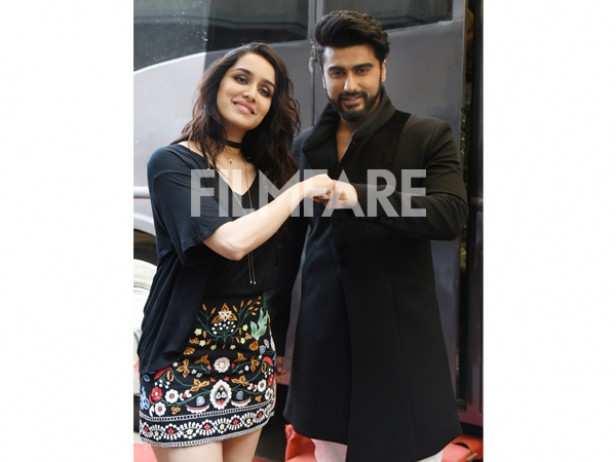 Shraddha Kapoor and Arjun Kapoor