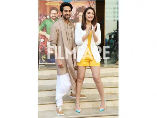 Ayushmann Khurrana and Parineeti Chopra