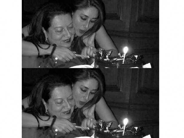 Kareena Kapoor Khan and Babita Kapoor