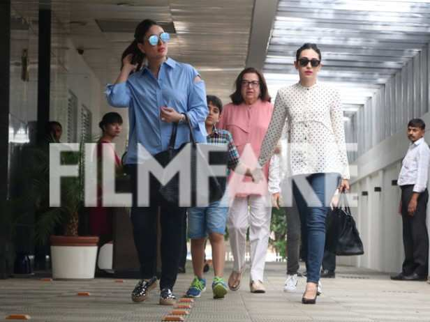 kareena kapoor khan, Kiaan Raj Kapoor and Babita Kapoor