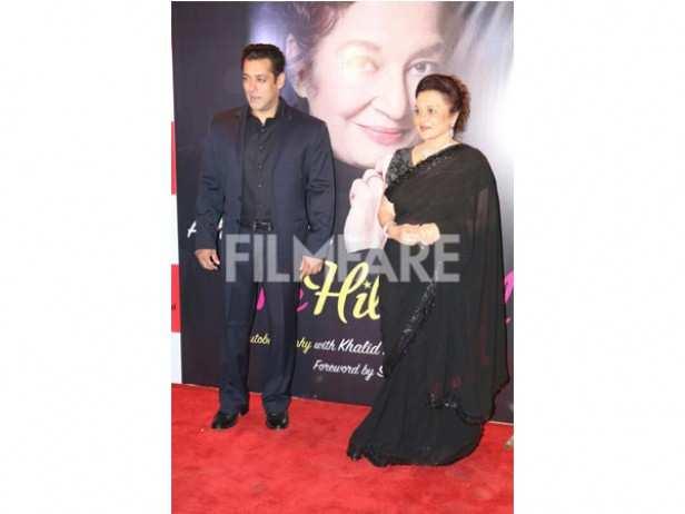 Salman Khan and Asha Parekh