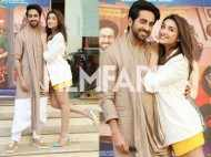Parineeti Chopra and Ayushmann Khurrana go cutesy at the Meri Pyaari Bindu trailer launch
