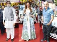 Amitabh Bachchan, Anupam Kher, Raveena Tandon and Sonu Sood attend an event