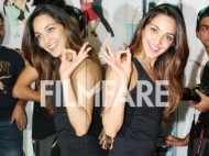 Kiara Advani breaks a leg on Tu cheez badi hai at a dance academy