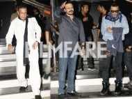 Jackie Shroff, Mithun Chakraborty, Vivek Oberoi, Manoj Bajpayee meet Ram Gopal Varma