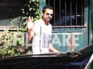 Abhay Deol spotted after his fairness products rant