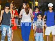 Sisters Malaika Arora and Amrita Arora's day out with their kids