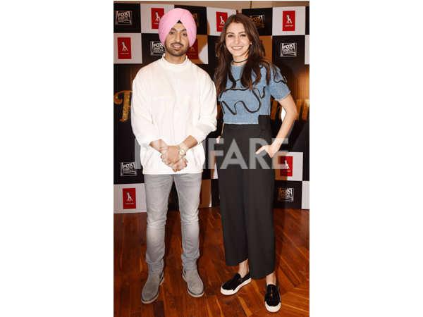 Diljit Dosanjh and Anushka Sharma