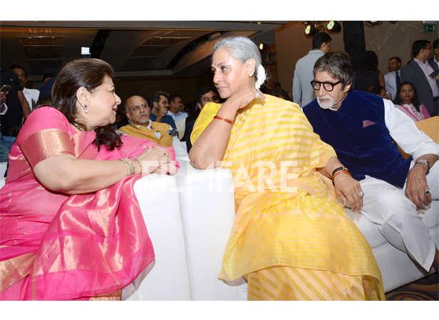 Amitabh Bachchan and Jaya Bhaduri Bachchan