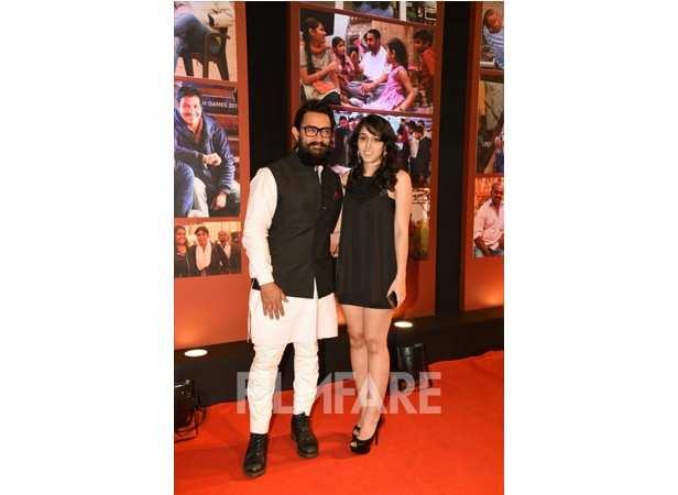 Aamir Khan and Ira
