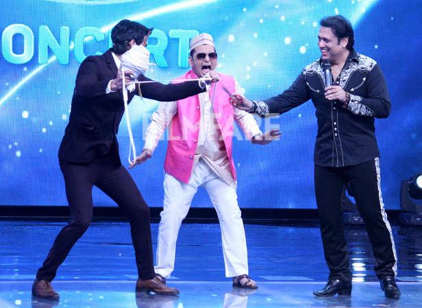 Govinda shows his killer dance moves on Indian Idol
