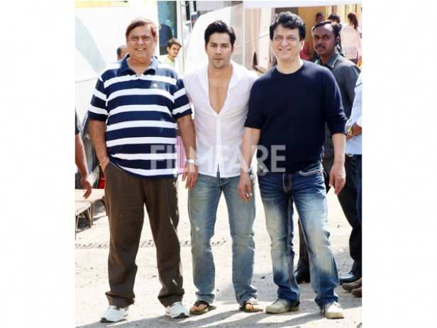 David Dhawan, Varun Dhawan and Sajid Nadiadwala