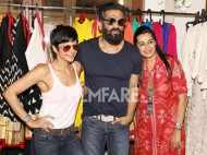 Suniel Shetty, Mandira Bedi attend Mana Shetty's exhibition