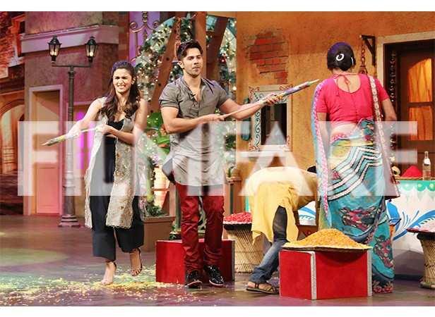Varun Dhawan and Alia Bhatt rock The Kapil Sharma Show | filmfare com