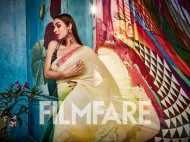 Malaika Arora stuns in this beautiful saree at Satya Paul's launch