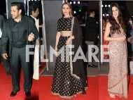 Salman Khan, Katrina Kaif and lulia Vantur look smashing at Neil Nitin Mukesh's wedding reception