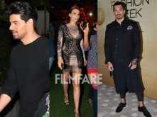 Stars clicked on Lakme Fashion Week Day 3
