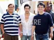 Varun Dhawan, David Dhawan attend an event to celebrate 20 years of Judwaa