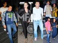 Kabir Khan, Sohail Khan, Mahesh Manjarekar seen at Tubelight's completion party