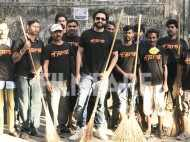 Jackky Bhagnani initiates a cleaning drive