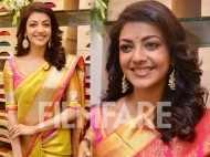 Kajal Aggarwal looks beautiful in a saree