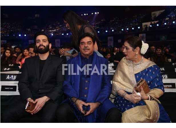 Shatrughan Sinha with Family