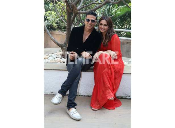 Akshay Kumar and Huma Qureshi