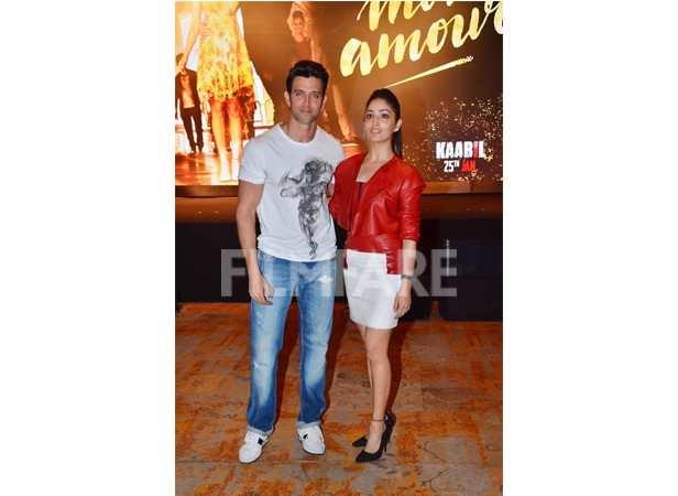 Hrithik Roshan and Yami Gautam