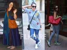 Kareena Kapoor Khan, Karisma Kapoor, Malaika Arora Khan's paparazzi moment!