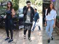 Mubarakan trio Arjun Kapoor, Ileana D'Cruz and Athiya Shetty begin with their dance rehearsals