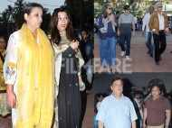 David Dhawan, Shabana Azmi, Naseeruddin Shah and other celebs spotted at late Om Puri's chautha