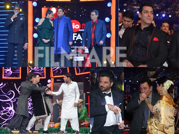 100 inside pictures from the 62nd Jio Filmfare Awards