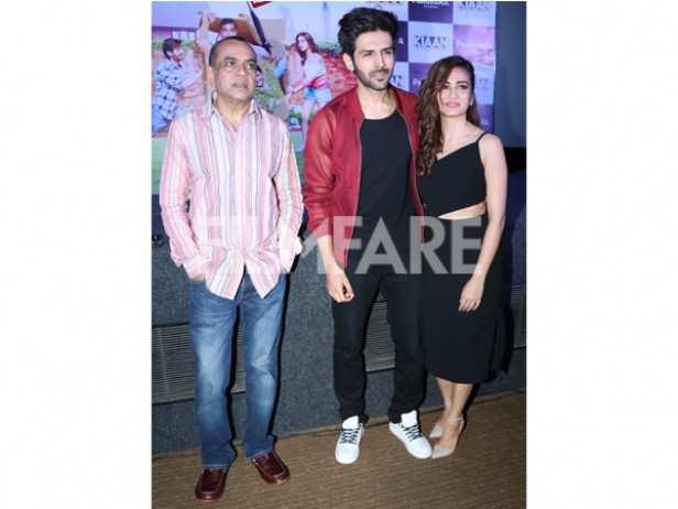Paresh Rawal, Kartik Aaryan and Kriti Kharbanda