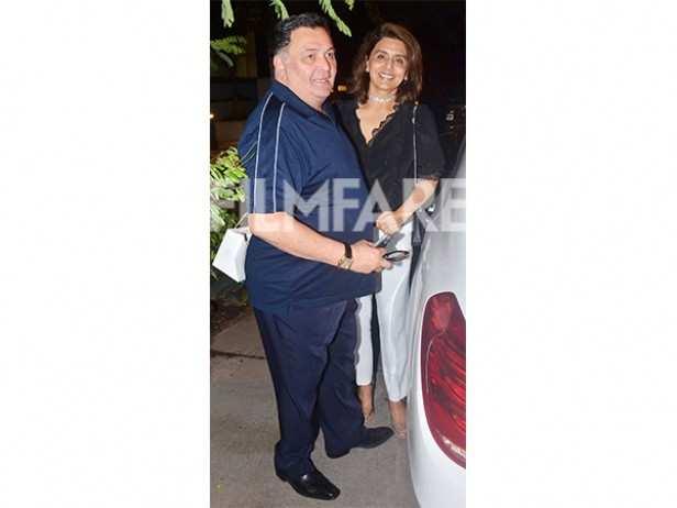 Rishi Kapoor and Neetu Singh