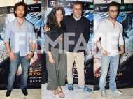 Tiger Shroff and Nidhhi Agerwal snapped at the special screening of Spiderman:Homecoming