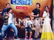 Tiger Shroff and Nidhhi Agerwal shake leg on a TV show