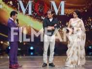 Sridevi and Akshaye Khanna promote Mom on a TV show