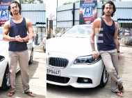 Tiger Shroff snapped post dance rehearsal in the city