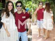 Varun Dhawan and Neha Dhupia have fun shooting for No Filter Neha