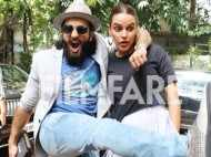 Pictures: Ranveer Singh and Neha Dhupia at their goofy best