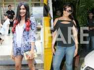 Adah Sharma and Richa Chadha chill in the city