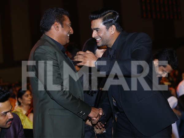 Prakash Raj and R. Madhavan
