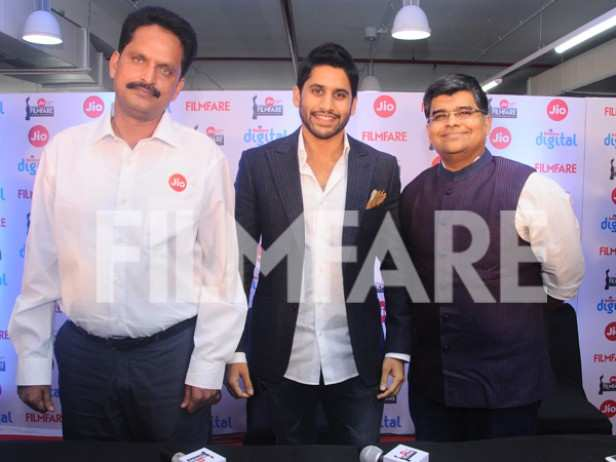 KC Reddy, Naga Chaitanya and Jitesh Pillai