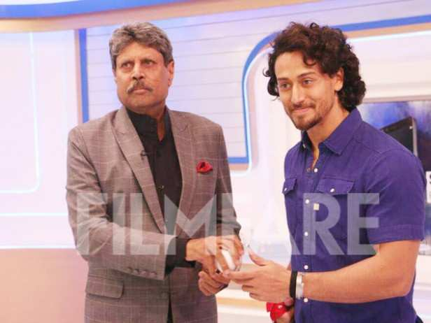 Kapil Dev and Tiger Shroff