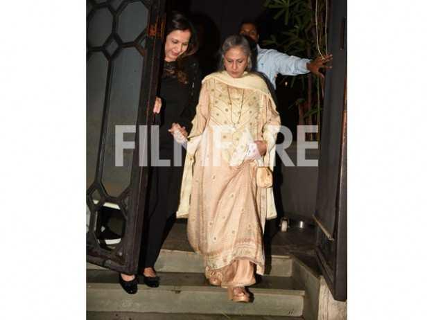 Karuna Dhawan and Jaya Bhaduri Bachchan